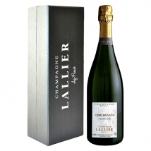 "Champagne Lallier Zero Dosage ""Grand Cru"" 750 ml in conf. regalo"