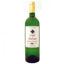 Bordeaux Blanc Croix de Marsan AOC Chateau De Marsan 750 ml