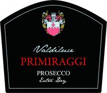 Prosecco DOC Primiraggi Extra Dry Valdiluce 750 ml
